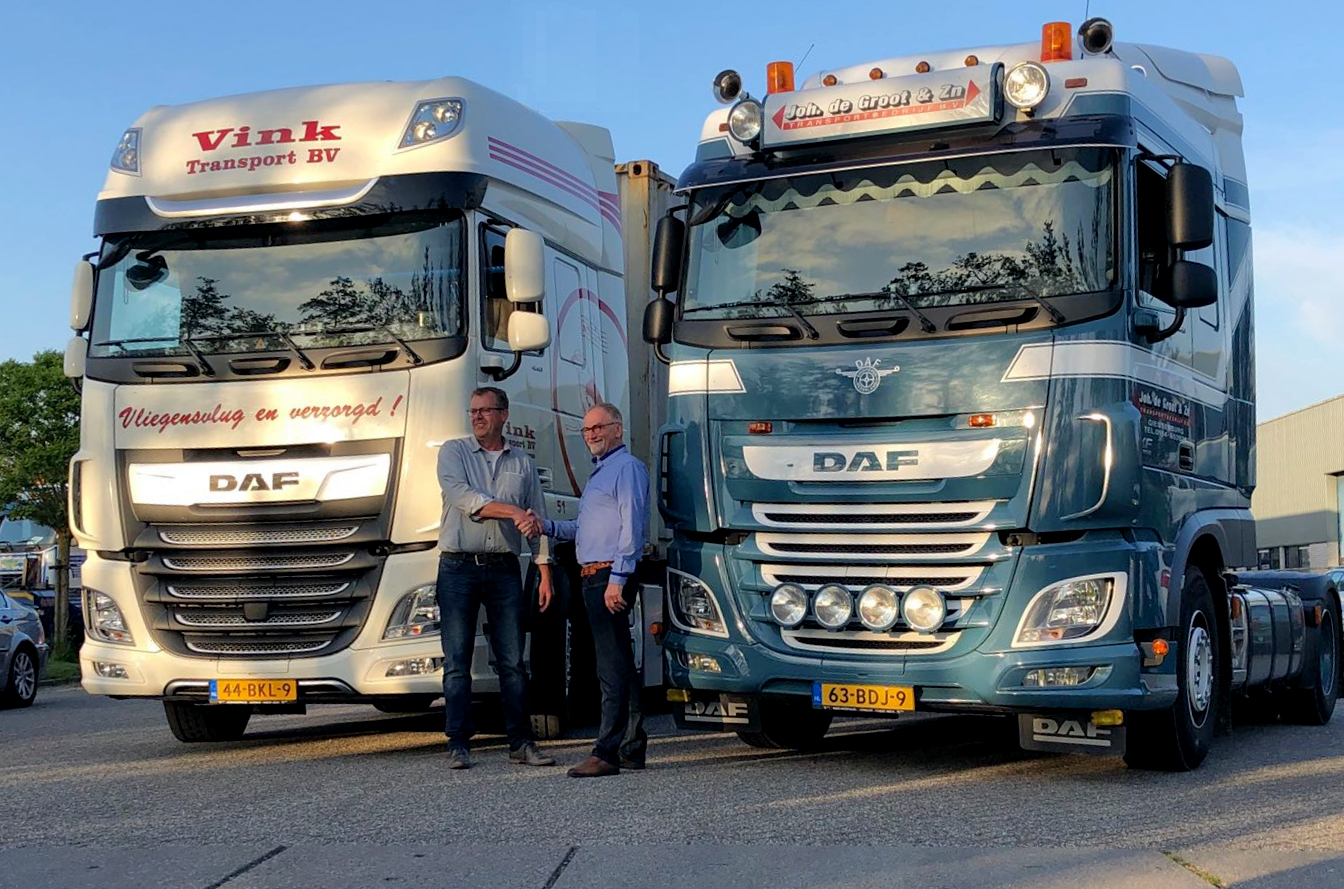Overname Vink Transport